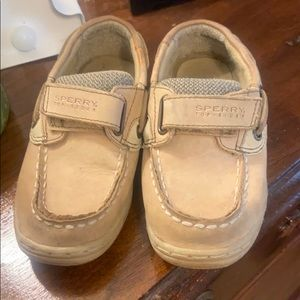 Toddler Sperry Slider shoes size 10W